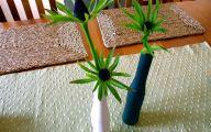 Green Envy Flowers  30 Wide Wallpaper