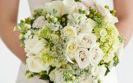 Green Flowers In Bouquet  2 Background Wallpaper