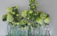 Green Flowers In Vase  30 Free Wallpaper
