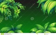 Green Leafy Flowers  34 Desktop Wallpaper