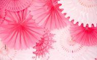 Pink Elephant Flowers  33 Wide Wallpaper