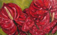 Red Anthurium 37 Free Wallpaper