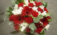 Red Flowers For Wedding Bouquets  4 Background