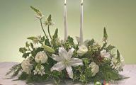 White Flowers For Christmas  13 Widescreen Wallpaper