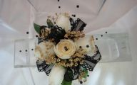 Black Corsage Flowers  26 Widescreen Wallpaper