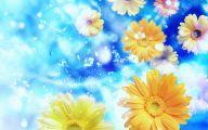 Blue Flowers Desktop Wallpaper  12 High Resolution Wallpaper
