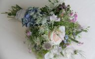 Blue Flowers For Bouquets  12 Wide Wallpaper