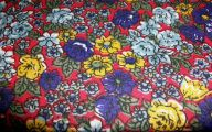 Flowers Red Yellow Blue  11 Background