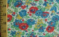 Flowers Red Yellow Blue  19 Wide Wallpaper