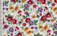 Flowers Red Yellow Blue  32 Background