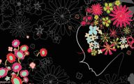Free Wallpaper Of Black Flowers  2 Cool Hd Wallpaper