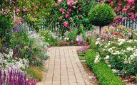 Green Flowers Garden  10 Free Hd Wallpaper