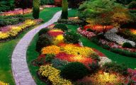 Green Flowers Garden  9 Free Hd Wallpaper