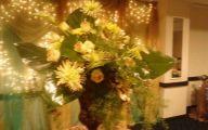 Green Gold Flowers  15 Free Hd Wallpaper
