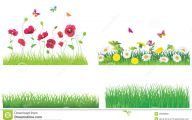 Green Grass Flowers  8 Desktop Background