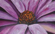 Purple Flowers Painting  19 Desktop Background