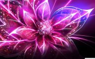 Purple Flowers Painting  23 Desktop Background