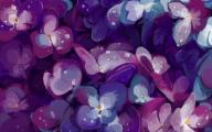 Purple Flowers Painting  27 Cool Wallpaper