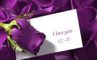 Purple Flowers Quotes  13 Widescreen Wallpaper