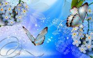Wallpaper Flowers Blue  1 Desktop Wallpaper