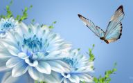 Wallpaper With Blue Flowers  5 Cool Hd Wallpaper