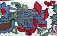9 Red Flower Wallpaper Border  27 Background