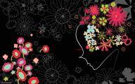 Black Flower  107 Cool Hd Wallpaper