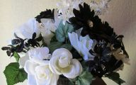 Black Flower Arrangement  11 Widescreen Wallpaper