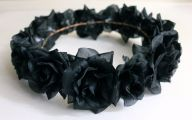 Black Flower Crown  18 Background Wallpaper