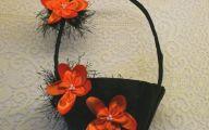 Black Flower Girl Basket  44 Desktop Background