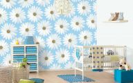Blue And White Flower Wallpaper  1 Background Wallpaper