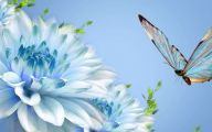 Blue And White Flower Wallpaper  5 Cool Wallpaper
