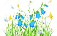Blue And Yellow Flower Wallpaper  5 Background Wallpaper