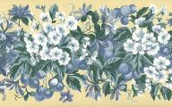 Blue And Yellow Flower Wallpaper  9 Hd Wallpaper
