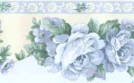 Blue Rose Wallpaper Border  10 Widescreen Wallpaper