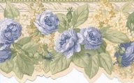 Blue Rose Wallpaper Border  25 Cool Wallpaper