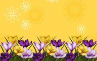 Flower Wallpaper Border  15 Wide Wallpaper