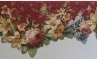 Flower Wallpaper Border  25 High Resolution Wallpaper