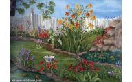 Flower Wallpaper Border  6 Background