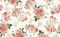 Flower Wallpaper Vintage  2 Background