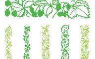 Green Flower Rings Wallpaper Border  34 Cool Hd Wallpaper