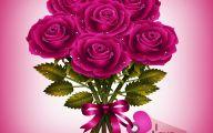 Hot Pink Rose Wallpaper  6 Free Hd Wallpaper