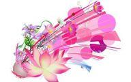 Pink And Green Flower Wallpaper  21 Free Wallpaper
