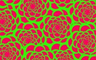 Pink And Green Flower Wallpaper  6 Background Wallpaper