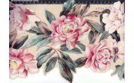 Pink Rose Wallpaper Border  13 Wide Wallpaper
