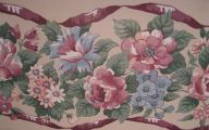 Pink Rose Wallpaper Border  4 Cool Wallpaper