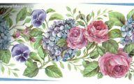Pink Rose Wallpaper Borders  4 High Resolution Wallpaper