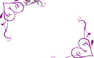 Purple Flower Wallpaper Background Borders  4 Widescreen Wallpaper