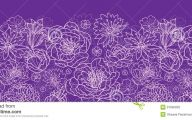 Purple Flower Wallpaper Background Borders  7 Hd Wallpaper