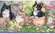 Purple Flower Wallpaper Border  6 Free Hd Wallpaper